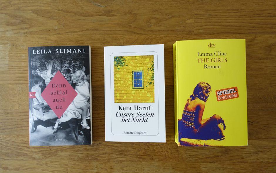 Meine Bücher im Juni