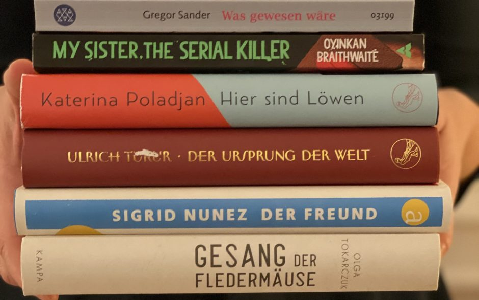 Meine Bücher im Januar