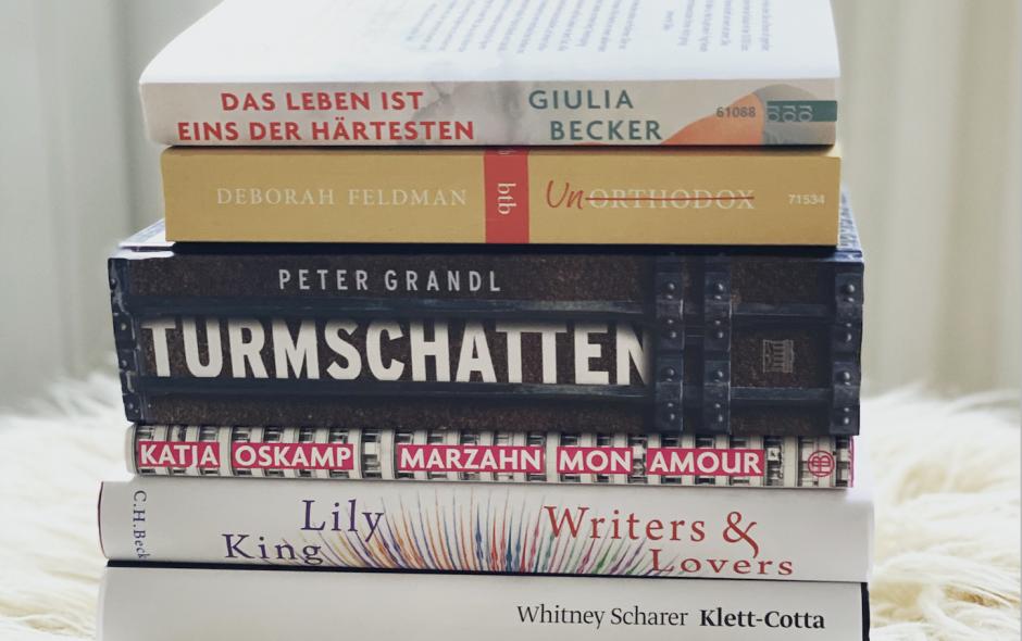 Meine Bücher im August