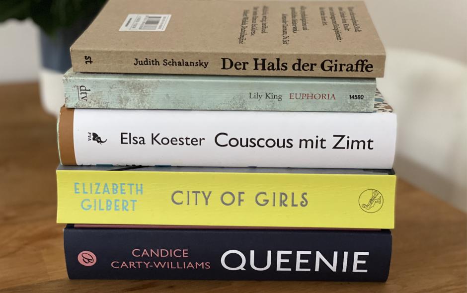 Meine Bücher im November